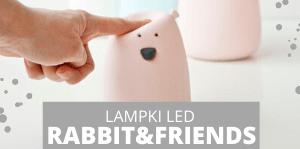 Lampka Led Miś Rabbits&Frineds