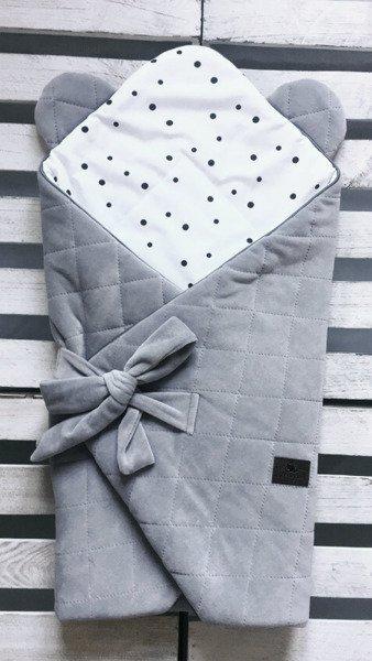 2be6ad0c1eab ... Rożek niemowlęcy Royal Baby - Grey Grey - Sleepee ...