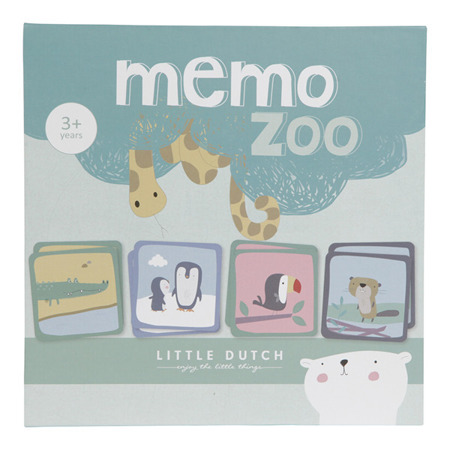 Gra Memory Zoo - Little Dutch