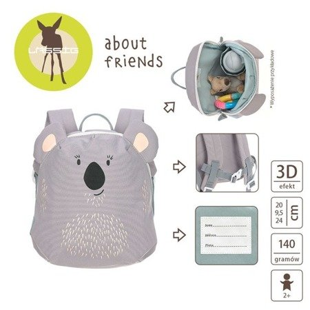 Plecak Mini About Friends Koala - Lassig